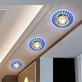 Đèn Chùm LED Chiếu Sáng Phòng Khách Hình Con Công