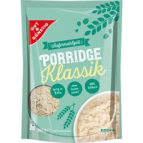 Combo 2 gói Yến mạch ăn liền Gut & Gunstig Porridge 350gr