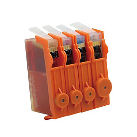 4Pcs Compatible Ink Cartridges for HP 655 Deskjet 3525 4615 4625 5525 6520 6525
