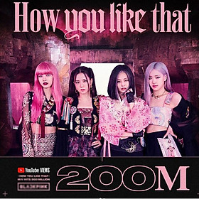 Postcard Blackpink How you like 200 million