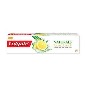 Bộ 2 Kem Đánh Răng Colgate Naturals Pure Fresh Lemon & Aloe Vera 180g Chanh & Nha Đam cho hơi thở thơm mát siêu giá tiết kiệm