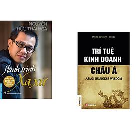 Combo 2 cuốn sách: Hành Trình Xa Xứ - Giấc Mơ Quốc Gia Khởi Nghiệp (Bìa cứng) + Trí tuệ kinh doanh châu Á