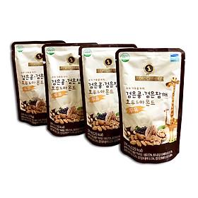 4 bịch Sữa Dinh Dưỡng Tăng Chiều Cao từ Óc chó Hạnh nhân Đậu đen hiệu Golden Health