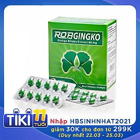 Thực phẩm chức năng  hỗ trợ tuần hoàn não Robgingko – Robinson Pharma Usa-Hộp 100 viên