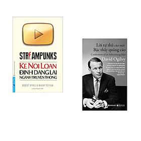Combo 2 cuốn sách: Kẻ Nổi Loạn Định Dạng Lại Ngành Truyền Thông + Lời Tự Thú Của Một Bậc Thầy Quảng Cáo