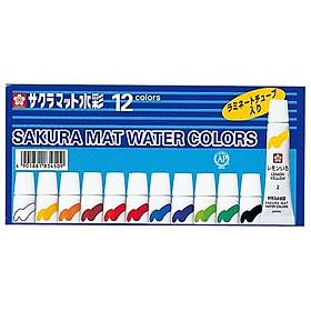 Màu Nước Sakura Mat Water Color 5ml 12 Màu