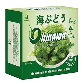 Rong Nho Khô Tách Nước Okinawa (5 gói x 20g) - Thần Dược Đại Dương
