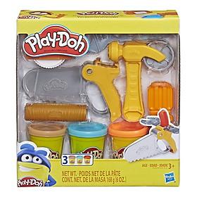 Bộ Đồ Chơi Đất Nặn Hướng Nghiệp - Play-Doh E3342 - Mẫu 2 - Bộ Kỹ Sư