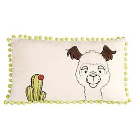 Gối Bông 43x25cm-Lạc Đà Alpaca Wild Friends Gối 42304