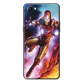 Ốp Lưng Dành Cho Oppo F7 - Iron Man Lửa