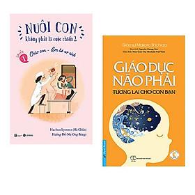 Combo sách hữu ích trong việc nuôi con: Nuôi Con Không Phải Là Cuộc Chiến - Chào Con Em Bé Sơ Sinh + Giáo Dục Não Phải - Tương Lai Cho Con Bạn