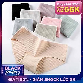Combo 5 Quần quần lót nữ cotton không đường may, không viền thấm hút mồ hôi - ZQ288