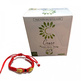 Thực phẩm chức năng Trà hỗ trợ giảm cân Came japonica hộp 10 gói/10gr  mẫu mới + Tặng kèm vòng phong thủy Cực Chất