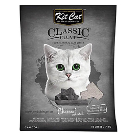Cát Thủy Tinh Kit Cat - Than Hoạt Tính (5L)
