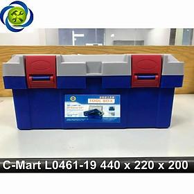 Thùng đồ nghề nhựa C-Mart L0461-19 440 x 220 x 200