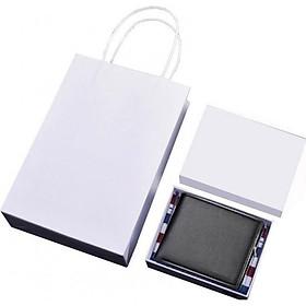 Ví / bóp da nam cao cấp có hộp túi làm quà tặng