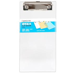 Comic A7003 Transparent Flat Clamp / Ticket Transparent