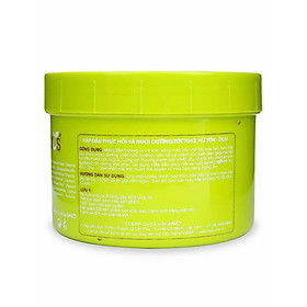 Kem Hấp Dầu M-Pros Phục Hồi Tóc Khô Xơ Olive Hũ (500ml)
