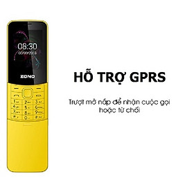 Điện Thoại Di Động GSM ZONO N8110 2.4inch – Hàng Nhập Khẩu – Vàng