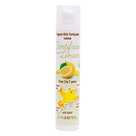 Gel Đánh Răng Vị Chanh Organic Toothpaste Lemon Azeta Bio GDR006 (50ml)