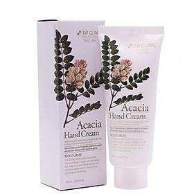 Kem dưỡng da tay thảo mộc Hàn Quốc cao cấp 3W Clinic Acacia Hand Cream (100ml) – Hàng chính hãng