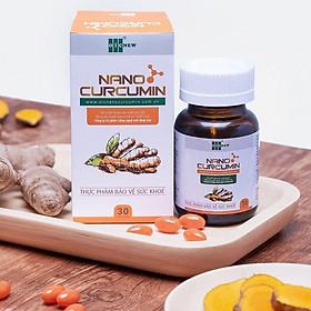 Thực phẩm bảo vệ sức khỏe Viên nang Nano Curcumin OIC - thế hệ mới