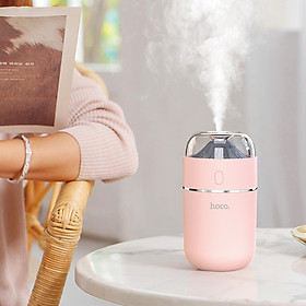 Máy Tạo Độ Ẩm Cao Cấp Cầm Tay Hoco Mini HUMIDIFIER Aroma - Hàng Chính Hãng
