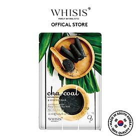 Mặt nạ than hoạt tính Whisis Nature Origin Energy Sheet Mask thải độc, se khít lỗ chân lông