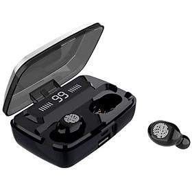 Tai nghe Bluetooth TWE Z15 V5.0 - Wireless có Dock sạc hỗ trợ không dây, chống nước, lọc tiếng ồn, công nghệ Stereo 5,0 bắt sóng tốt