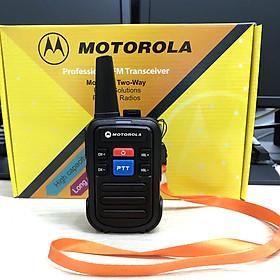 Bộ đàm Motorola Minitor VI, bộ đàm mini cầm tay nhỏ gọn - Hàng nhập khẩu