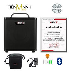 [Bluetooth, Pin sạc] Amply Aroma AG-40A - Loa Ampli Guitar AG40A Amplifier AG40 - Kèm Bao Đựng, Móng Gẩy DreamMaker