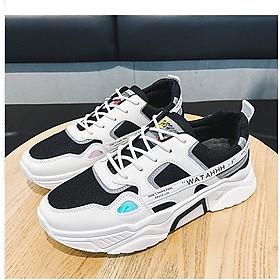 Giày thể thao sneaker nam phong cách trẻ trung 2020 - 015 đen