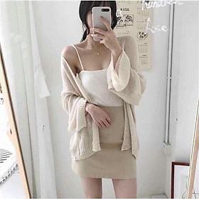 Áo khoác len mỏng quảng châu siêu xinh