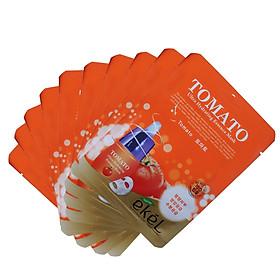 Combo 10 Miếng Mặt Nạ Dưỡng Da Cà Chua Ekel Tomato Ultra Hydrating Essence Mask (25ml x 10)