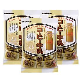 3 Gói Kẹo Cà Phê Sữa Uha Nhật Bản (104g x 3)