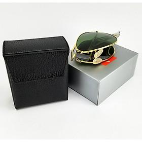 Mắt kính thời trang nam cao cấp - Gọng kính gấp nhỏ gọn, tiện dụng Jun Secrect BDRBGAP