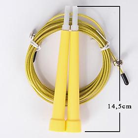 Dây nhảy thể dục nhựa PVC cao cấp có thể tuỳ chỉnh độ dài dây, tối đa 3m-2