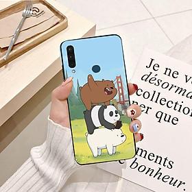 Ốp lưng điện thoại VSMART JOY 3 viền silicon dẻo hình Gấu Trắng Vui Vẻ - Hàng chính hãng