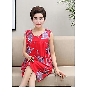 Váy, Đầm Ngủ Mặc Nhà Cho Người Trung Niên, Người Lớn Tuổi NGV01 NGV02 NGV03 NGV04 NGV05 NGV06 NGV07