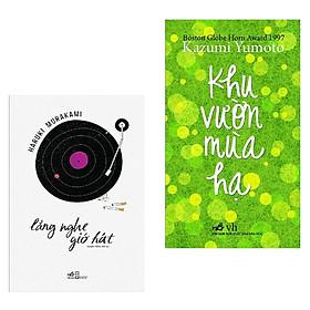 Combo Truyện Ngắn, Tản Văn Đặc Sắc: Lắng Nghe Gió Hát + Khu Vườn Mùa Hạ (Top Sách Văn Học Bán Chạy Trong Tháng - Tặng Kèm Bookmark Happy Life)