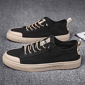 Giày Nam Sneaker Chất Liệu Vải Bò, Đế Cao Su Mềm Phong Cách Trẻ Trung Năng Động - Mã sản phẩm D87