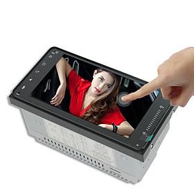 Màn hình cảm ứng LCD Full HD 1080 Android 8.1 7 inch có tiếng Việt lắp cho các dòng xe Toytota - Tích hợp Bluetooth, Wifi, module GPS và Camera lùi dài 6m AnZ