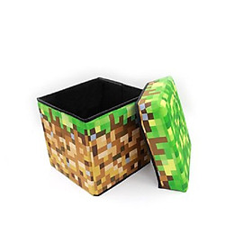 Rương đồ hình cục đất Minecraft