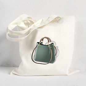 Túi Vải Đeo Vai Tote Bag In Hình Túi xách - ADHDA014