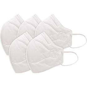 Khẩu Trang Chống Bụi 3D Cao Cấp N96+  (Không Van) Safelife Safemask  (Hộp 5 Cái)