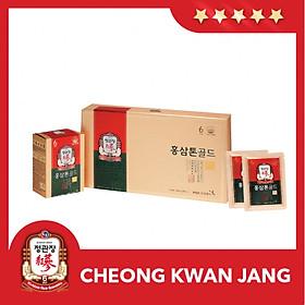 Nước Hồng Sâm Pha Sẵn Dạng Gói KGC Cheong Kwan Jang Tonic Gold 40ml x 30 Gói
