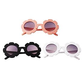 3pcs Fashion Baby Kids Boys Girls Flower Sunglasses Toddler Glasses Eyewear