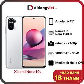 Xiaomi Note 10s (8GB/128GB) - Hàng Chính Hãng