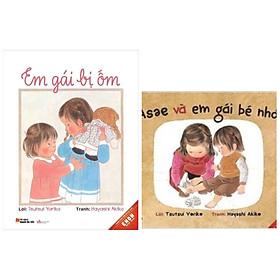 Combo 2 cuốn truyện thiếu nhi cho bé: Asae và em gái bé nhỏ + Em gái bị ốm