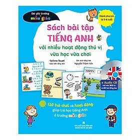Sách - Sách Bài Tập Tiếng Anh Với Nhiều Hoạt Động Thú Vị Vừa Học Vừa Chơi